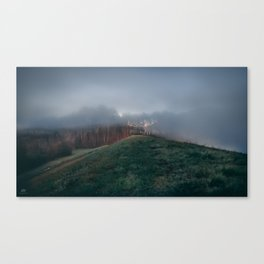 Waves of Fog Canvas Print