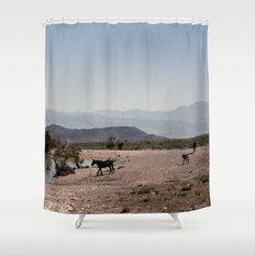 The Waterhole Shower Curtain