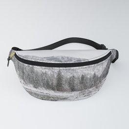 Winter Wilderness Fanny Pack