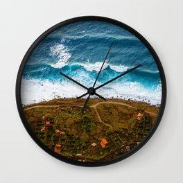 The Shore (Color) Wall Clock
