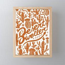 Desert Dweller Framed Mini Art Print