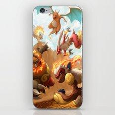 Fire Blast iPhone & iPod Skin