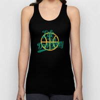 Life Is a Driveway Unisex Tank Top