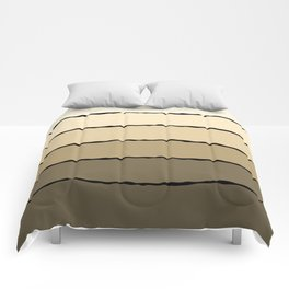 Cream and Beige Comforters
