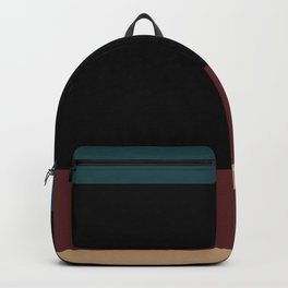 Contemporary Color Block XII Backpack