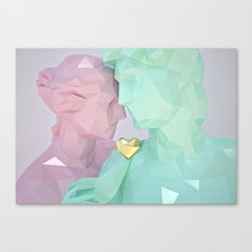 Close Lovers Canvas Print
