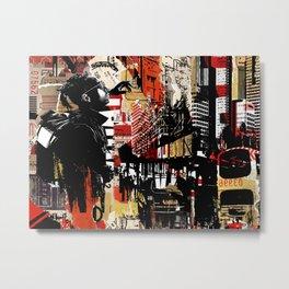 Urban Urbain Urbano Metal Print
