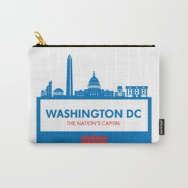 Washington DC Illustration Carry-All Pouch