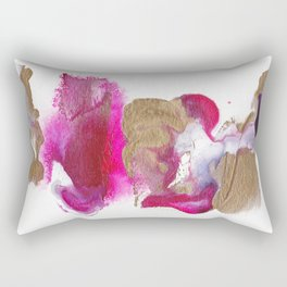 Eloise Abstract Painting Rectangular Pillow