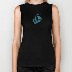 Poseidon Goddess of the Sea Biker Tank