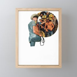 And on that farm there was a.. Framed Mini Art Print