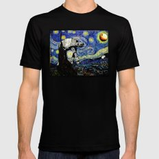 Starry Night versus the Empire Mens Fitted Tee Black X-LARGE