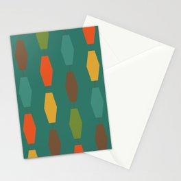 Colima - Teal Stationery Cards
