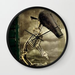 Pet Skeleton Wall Clock