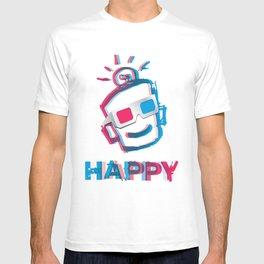 3D HAPPY T-shirt