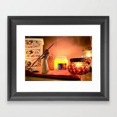 Warm still life Framed Art Print