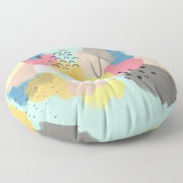 Layers of Colours Floor Pillow