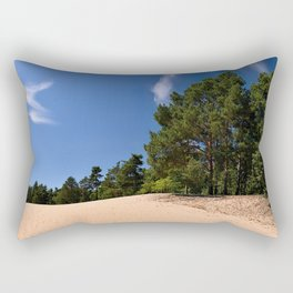Sandy dune Rectangular Pillow
