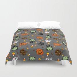 Halloween Spooks Duvet Cover