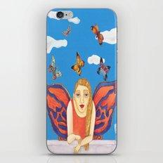 MARIPOSA O POLILLA ? iPhone & iPod Skin
