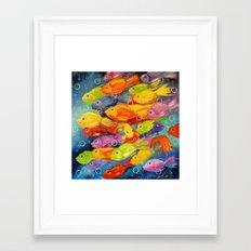 Fish Framed Art Print