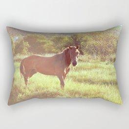 (w)horse Rectangular Pillow