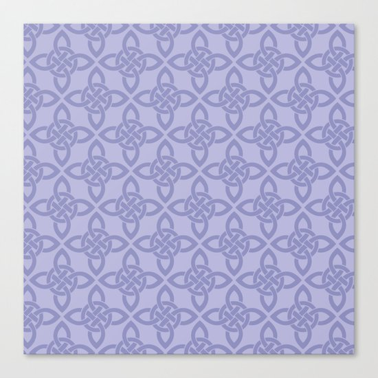 Northern Knot Pattern Canvas Print