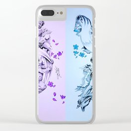 Baby Angels Clear iPhone Case