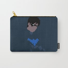 Nightwing Minimalism Carry-All Pouch