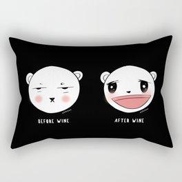 Me After Coffee & Wine Rectangular Pillow