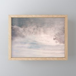 In The Morning Mist Framed Mini Art Print