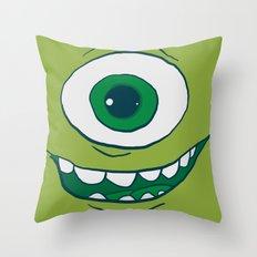 Bob Face Throw Pillow