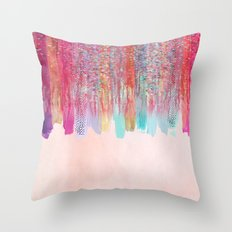 Chaos Over Simplicity Throw Pillow