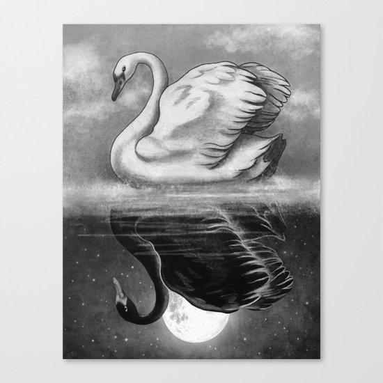 Dark Mirror  Canvas Print