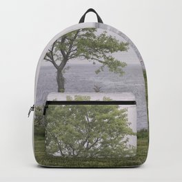 Lone tree by the sea Backpack