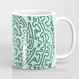 labyrint mandala Coffee Mug