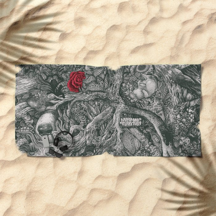 ROSE LOST Beach Towel