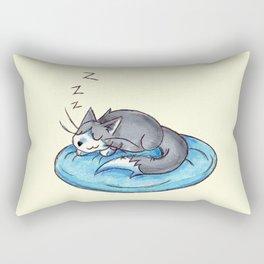 Sunday Snooze Rectangular Pillow