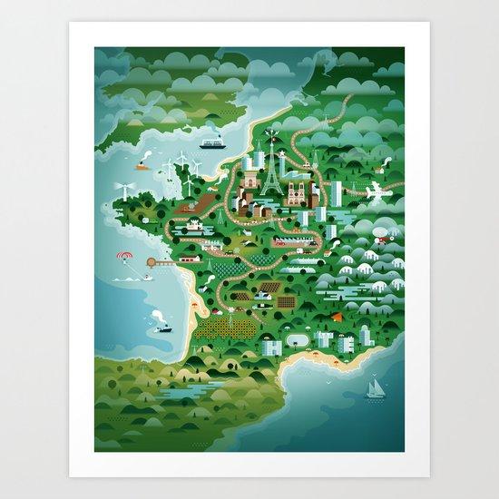 France Art Print