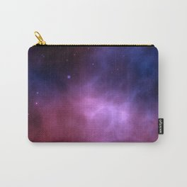 Purple Galaxy Carry-All Pouch