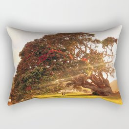 Pohutukawa swing tree Rectangular Pillow