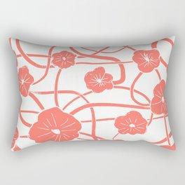 Mai Tai in Living Coral Rectangular Pillow