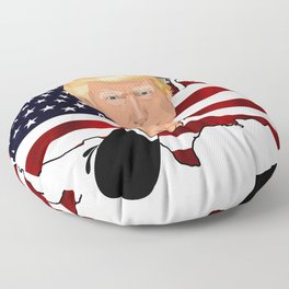 President Trump Floor Pillow