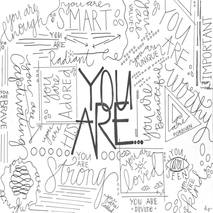 You Are Duvet Cover