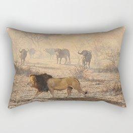 On Patrol by Alan M Hunt Rectangular Pillow