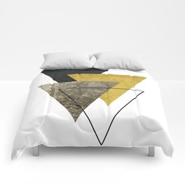 Modern Geometric I Comforters