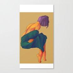 I'm Cold Canvas Print