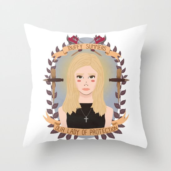 Buffy Summers Throw Pillow