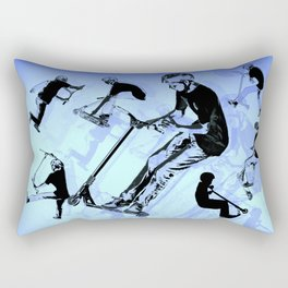 It's All About The Scooter! - Scooter Tricks Rectangular Pillow