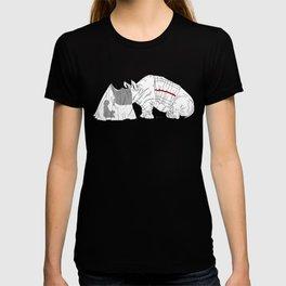 Danger Kids: Reading Rhino T-shirt